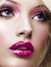 fucsia make-up
