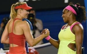 Serena Williams handshake