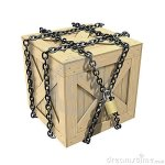 locked-wooden-crate