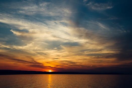sunset-sea-sky